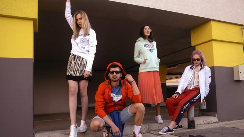 SQUAD.influencers si Shake Advertising au pus în mișcare noul lineup de influenceri urbani Tommy Hilfiger