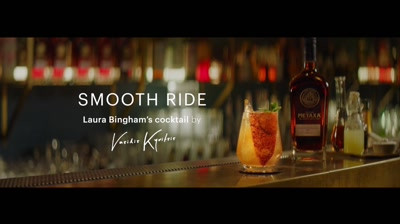 "Metaxa - Laura Bingham - Cocktail ""Smooth Ride"""