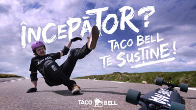 Pentru cei care trăiesc să se bucure de experiențe noi: Taco Bell deschide un nou restaurant în ParkLake și devine susținătorul oficial al celor mai pasionați începători