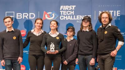 Echipa Transilvania Robotix din Cluj-Napoca participă la competiția internațională Maryland Tech Invitational cu sprijinul BRD