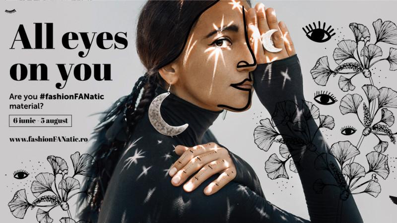 FAN Courier cheamă tinerii designeri pe scena #fashionFANatic și în 2018. Marks spune: All eyes on you