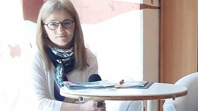 Oana Boca Stănescu: Cititul nu e ceva cu care te naști. Nu există copii programați genetic să apară pe lume ca mari cititori
