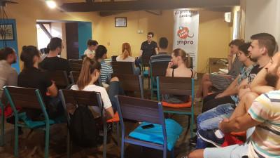!MPRO Talks – întâlnirile lunare ale comunităţii improvizatorilor români