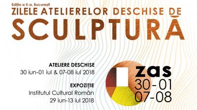 Zilele Atelierelor Deschise de Sculptură, București, ed. a 2-a, 2018