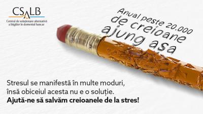 CSALB și MullenLowe salvează creioanele de la stres