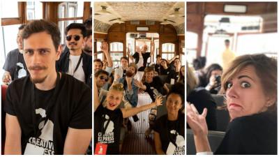 Un art, un copy și două zile de Creative Express în Lisabona