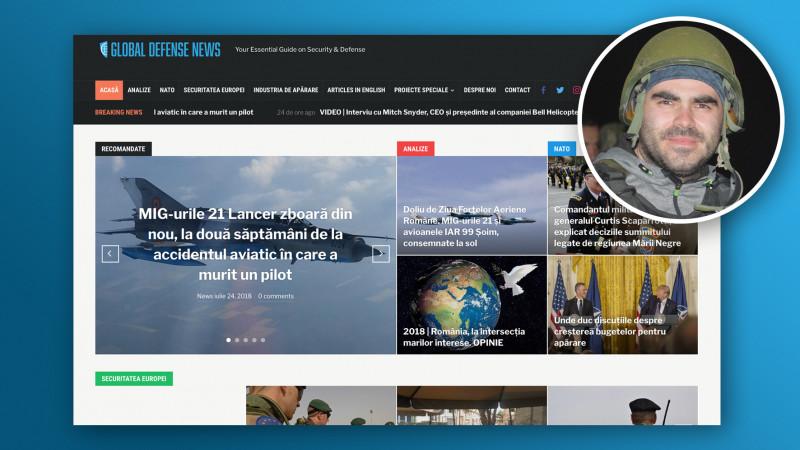 Știri și informații curate despre securitate și apărare. Ringier România lansează Global Defense News, în parteneriat cu jurnalistul Dragoș Sasu