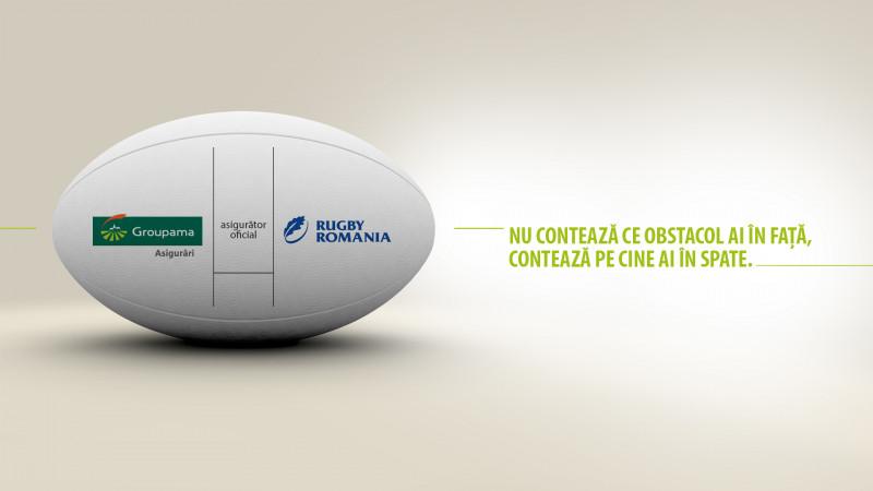 Groupama Asigurări devine asigurătorul oficial al Echipei Naționale de Rugby