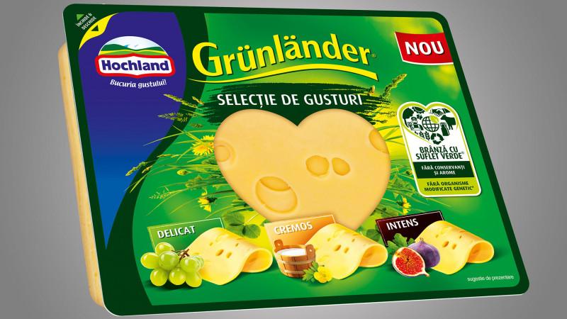 Hochland lansează un nou brand: Grünländer