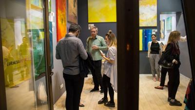 Haptic Perception – expoziția în care culorile nu doar s-au văzut ci s-au și simțit, a ajuns la final