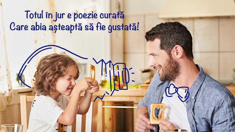 """Hochland România se reinventează și lansează o nouă campanie de comunicare, """"Totul în jur e poezie curată, care abia așteaptă să fie gustată!"""""""