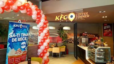 KFC România anunţă deschiderea celui de-al doilea Coffee Corner din centrul Bucureştiului, situat pe Calea Dorobanţi