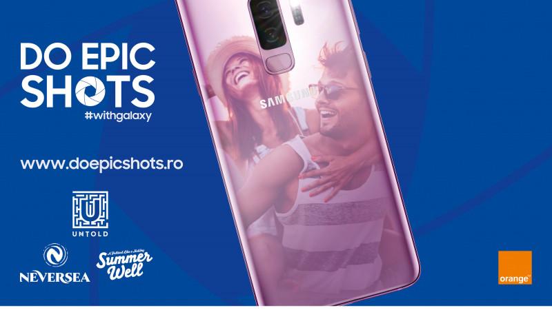 Samsung te provoacă la Epic Shots în cadrul celor mai mari festivaluri de muzică de anul acesta