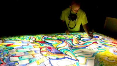 """Următorul mural by IRLO: muncile lui Hercule. """"Arta de stradă e în continuare prea puțin susținută de autorități"""""""