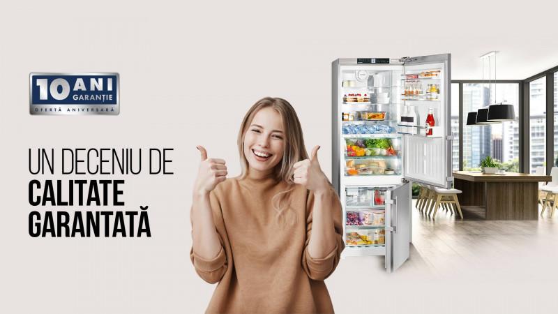 """Liebherr lansează campania aniversară """"Un deceniu de calitate garantată"""" semnată de Hueman Advertising"""