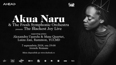 Akua Naru & The Fresh Symphonic Orchestra presents: Black Ecstatic Tour