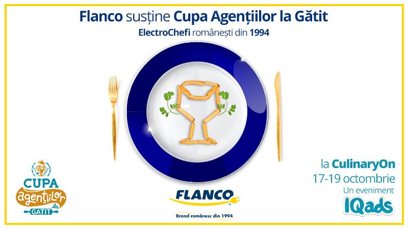 Electro-experienta Flanco sprijina descoperirea noilor talente de Chef la Cupa Agentiilor la Gatit
