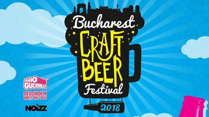 Demonstrații de homebrewing, demonstrații culinare și alte atracții la Bucharest Craft Beer Festival 2018