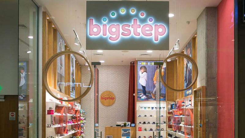 Oxygen preia comunicarea pentru bigstep®, singura rețea specializată în încălțăminte pentru copii din România
