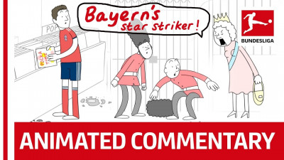 Fazele din Bundesliga nu au fost niciodata mai... literale