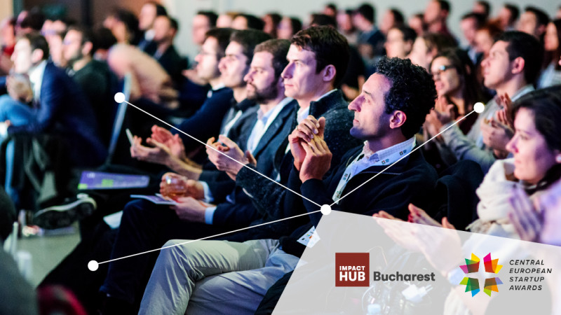 Impact Hub Bucharest organizează Finala Central European Startup Awards pe 19 septembrie