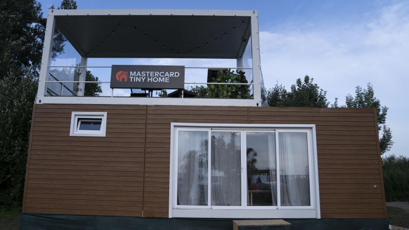 Mastercard Tiny Home își continuă traseul festivalier la Summer Well