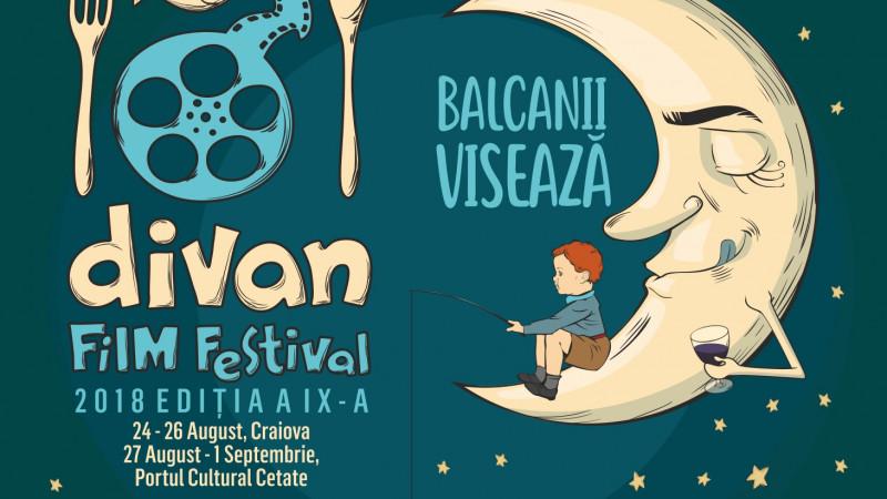 Începe Divan Film Festival 2018: filme balcanice senzaționale, concerte electrizante, teatru și demonstrații culinare de poveste