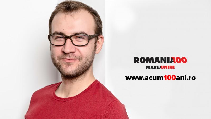 """Radu Olteanu și lecțiile de """"Acum 100 de ani"""": Cred că e util să urmăm exemplul generațiilor trecute care nu s-au împotmolit în lamentări"""
