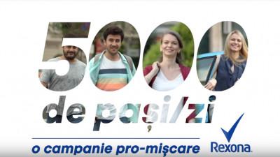 Simona Halep ne provoacă la #5000depasipezi în campania Rexona semnată de Propaganda