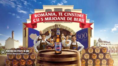 La 300 de ani de Timișoreana, România, te cinstim! 5 milioane de beri pentru români într-un an de sărbătoare