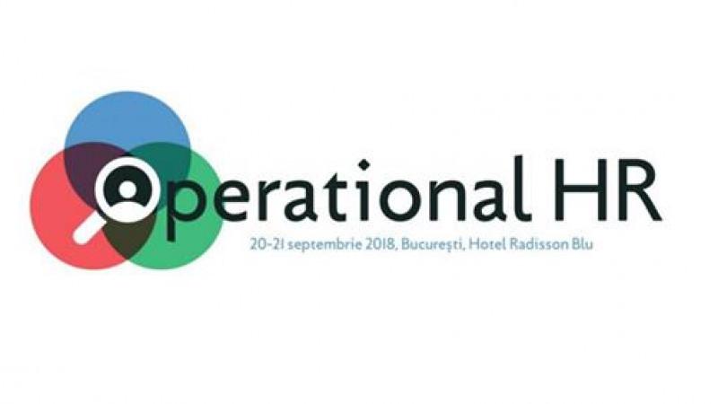 Speakeri cu experiență internațională și locală se reunesc la OPERATIONAL HR