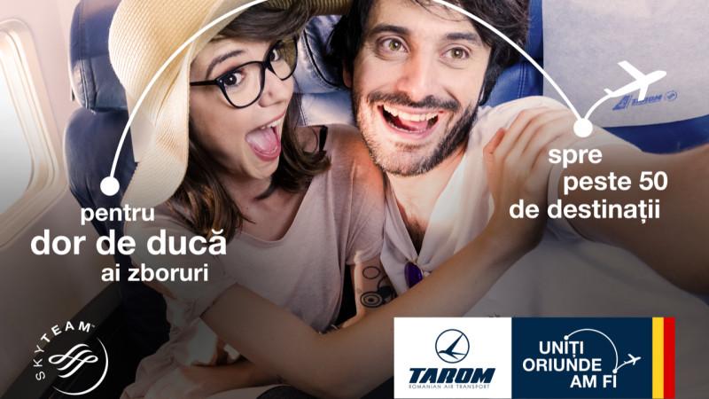 Despre români și dor, în cea mai nouă campanie de imagine TAROM, marca PROPAGANDA