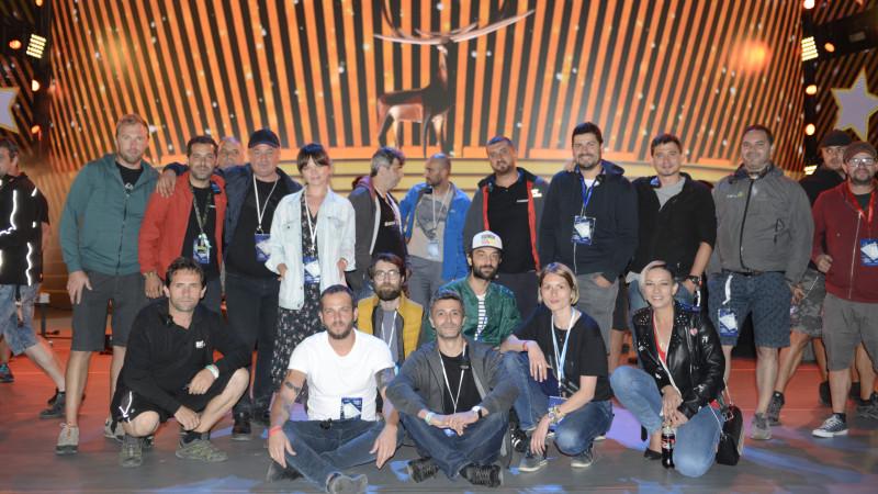 360 Revolution, alături de un grup de firme, a fost partener al Televiziunii Naționale pentru Festivalul Cerbul de Aur