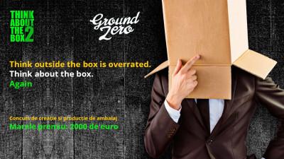 Think About The Box - concursul de design și producție de ambalaj revine cu ediția a doua și un partener non-conformist