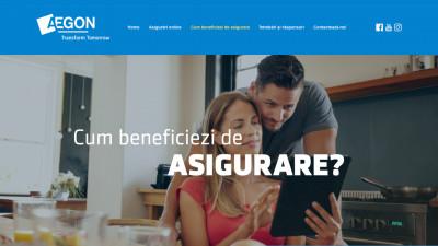 Aegon - Draft layouts website