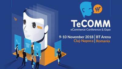 TeCOMM 2018: Cum crești rata de conversie cu 20% in eCommerce