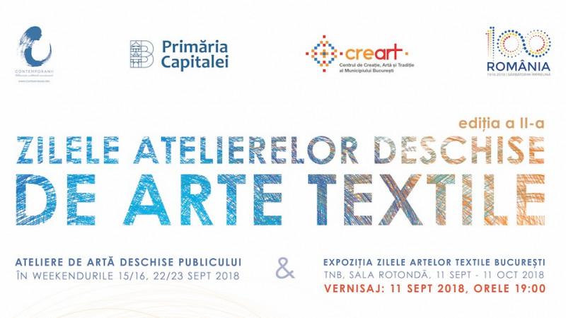 Zilele Atelierelor Deschise de Arte Textile, Sept 2018, București