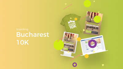 Bucharest 10K - Branding