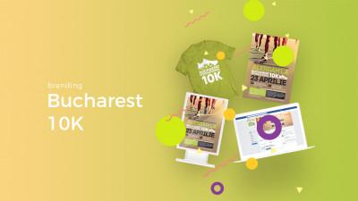 Bucharest 10K - Branding
