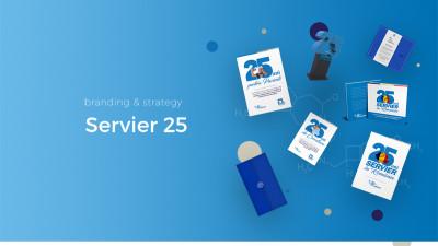 Servier 25 - Branding