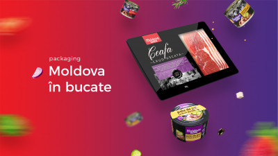 Moldova in bucate - Packaging