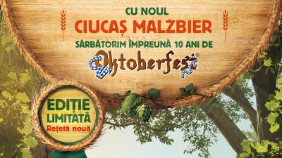 GMP Advertising și Webstyler semnează campania de lansare a noii beri Ciucaș Malzbier, ediția limitată dedicată festivalului Oktoberfest 2018