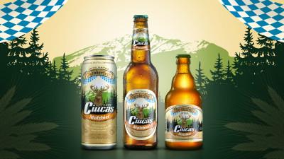 Brand New a creat ambalajul de sărbătoare al noului Ciucaș Malzbier, ediția limitată dedicată festivalului Oktoberfest 2018