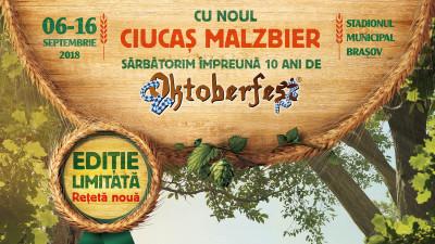 Ciucaș lansează Malzbier, o ediție limitată creată pentru Oktoberfest