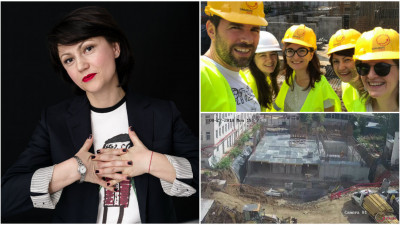 """Carmen Uscatu: """"Noi Facem un Spital"""" este un fenomen, o replică la """"credința"""" că """"Nu se poate face nimic în România""""."""