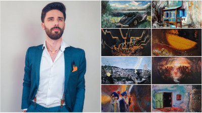"""Daniel Zlota: """"Primele bariere mi le puneam singur cand spuneam ca din arta nu poti trai. Poti trai si o poti face foarte bine daca muncesti"""""""