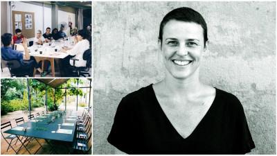 O masa, un grup de oameni si un deadline strans. Barbara Soalheiro (Mesa & Cadeira): Nu ne definim printr-un termen anume. Spunem ca organizam mese de lucru