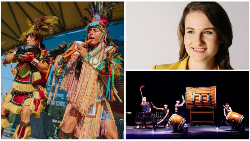 """Andreea Danescu (World Experience Festival) s-a gandit simplu: """"Cum poti aduce mai multe culturi aproape de romani?"""""""