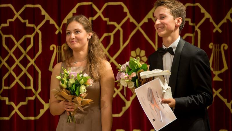 Daria Parkhomenko a obținut premiul I la Concursul Enescu 2018 - Secțiunea Pian