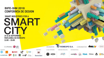 Conferința Smart Industries for a Smart City, Romexpo, 14-15 septembrie